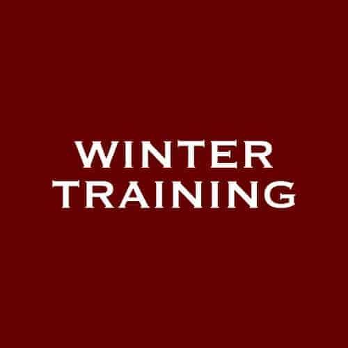 Driedaagse wintertraining 2019