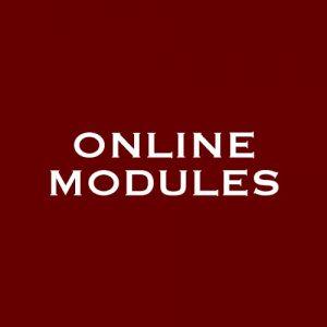 TAO online modules